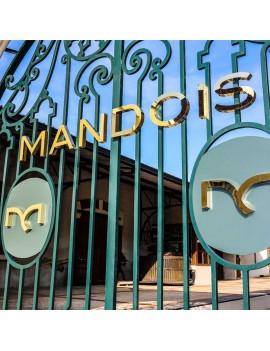 Champagne Mandois logo grille