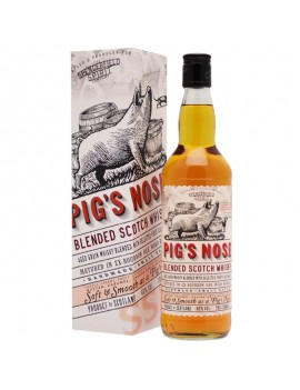 Whisky Pig's Nose bouteille