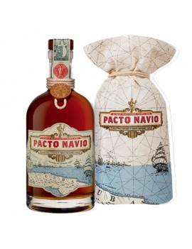Rhum Pacto Navio bouteille