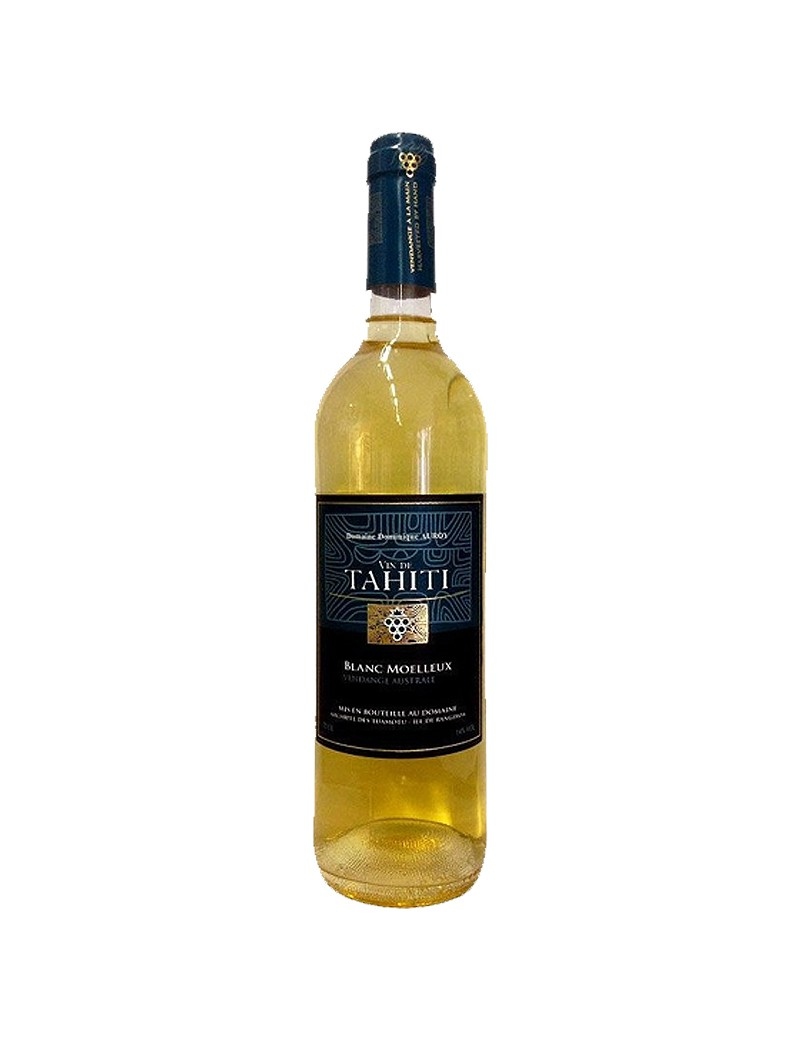 Vin de Tahiti Blanc Moelleux Dominique Auroy