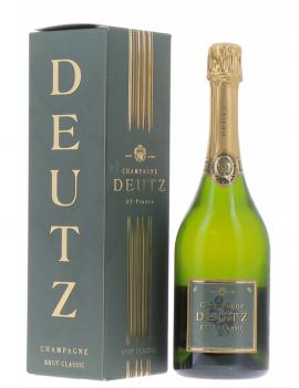 Champagne Deutz en étui