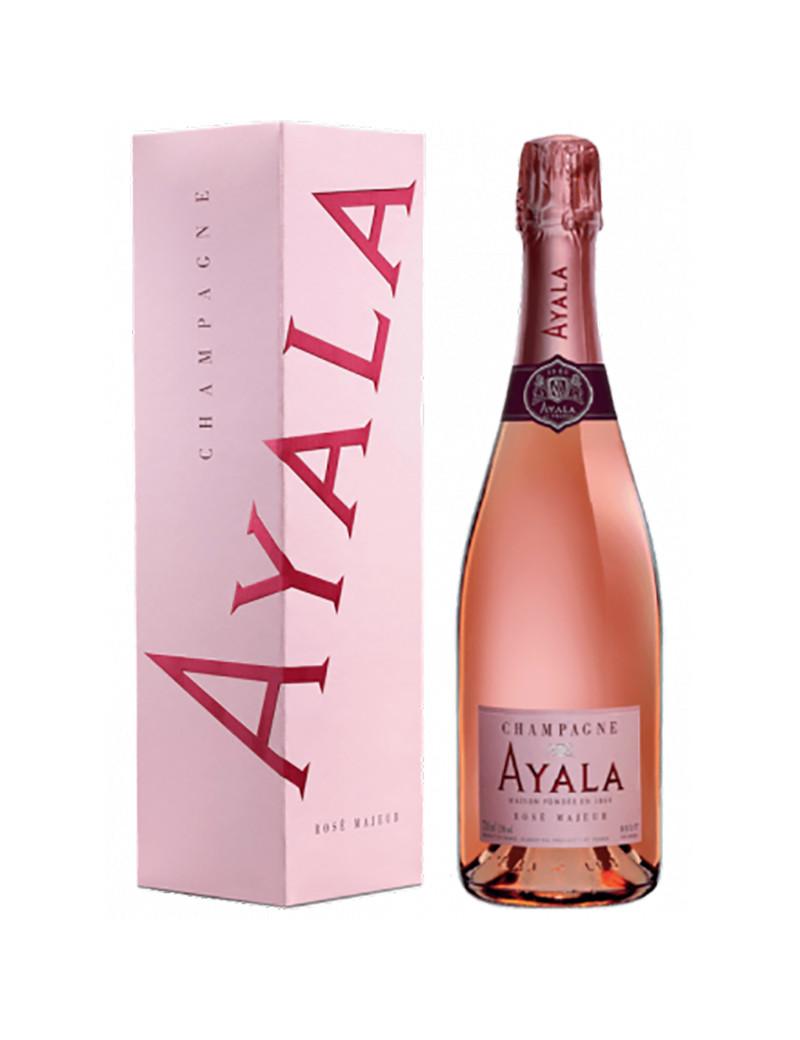 Champagne Ayala rosé en étui