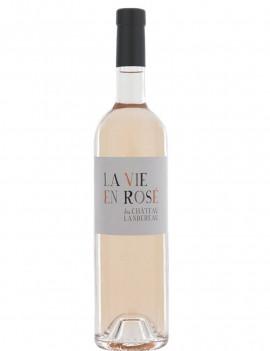 La Vie en Rosé Château Landereau bouteille