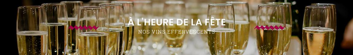 Tous nos vins effervescents et champagnes pas chers