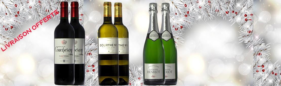 Les vins de vos repas de fêtes